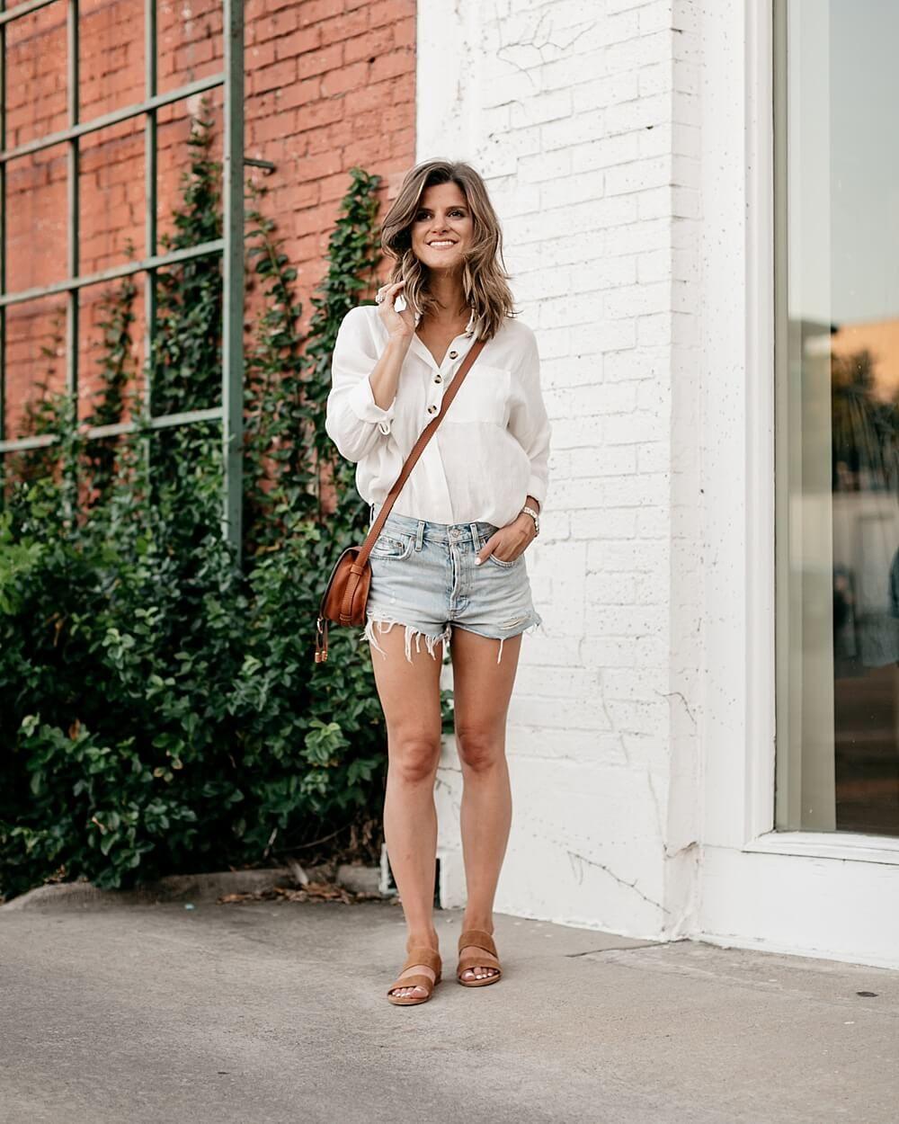 10 Ways to Wear Denim Shorts spring inspirationDenim spring inspiration Denim