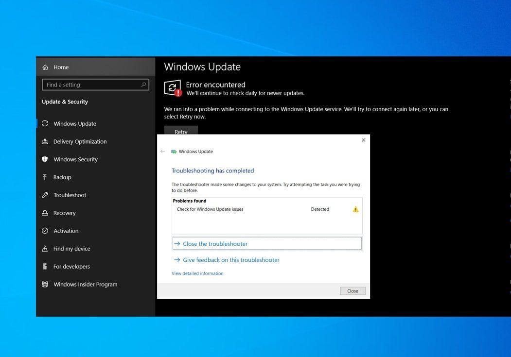 Solved Windows 10 Cumulative Update Install Error 0x80070246 In