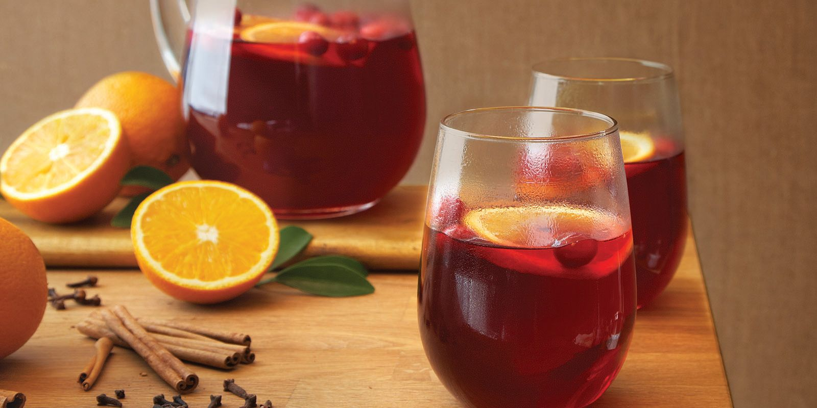 Mulled Cranberry Punch Sobeys Inc Recipe Cranberry Punch Cranberry Cranberry Sangria