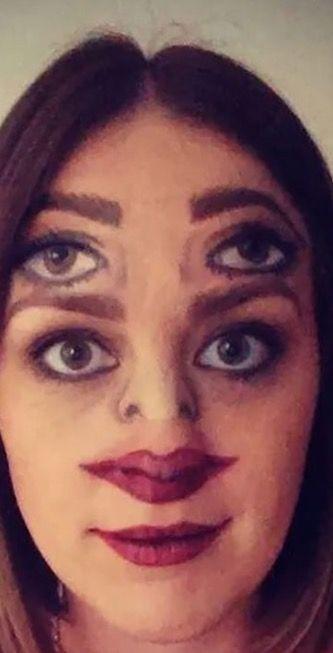 Split Face Makeup With Images Halloween Makeup Halloween