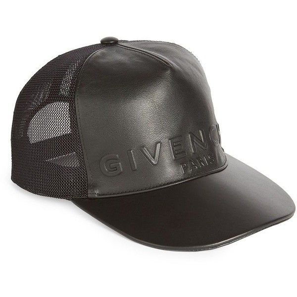 8227f6052d8 Givenchy Mesh Back Cap ( 535) ❤ liked on Polyvore featuring men s fashion