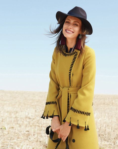Decorative Coat 01/2018 #113 | Clothing - DIY | Pinterest