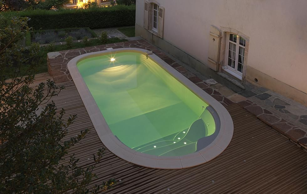 piscine waterair luna avec escalier pacio fotos de piscinas waterair pinterest piscine. Black Bedroom Furniture Sets. Home Design Ideas