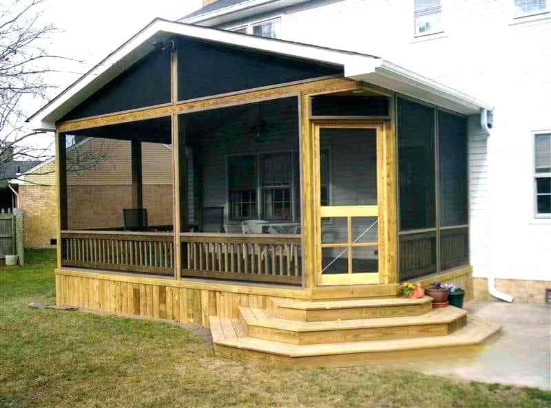 Screened In Porch Cost Enclosed