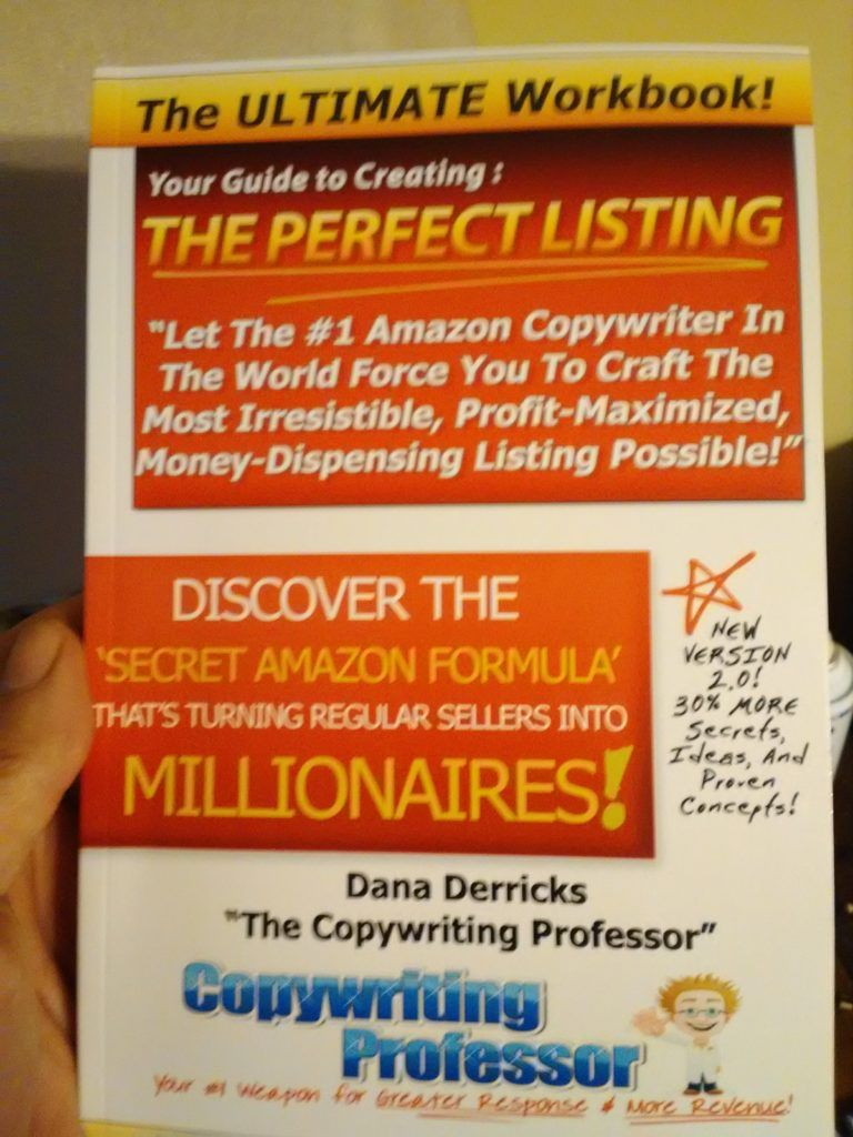 Review Of Dana Derricks Copywriting Professors Work Books €� Will These  Workbooks Skyrocket Your Amazon Profits How To Make Moneymake