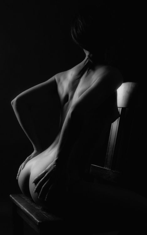 Black and white art photography women nude