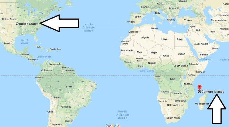 Where is The Comoros? / Where is The Comoros Located in The World