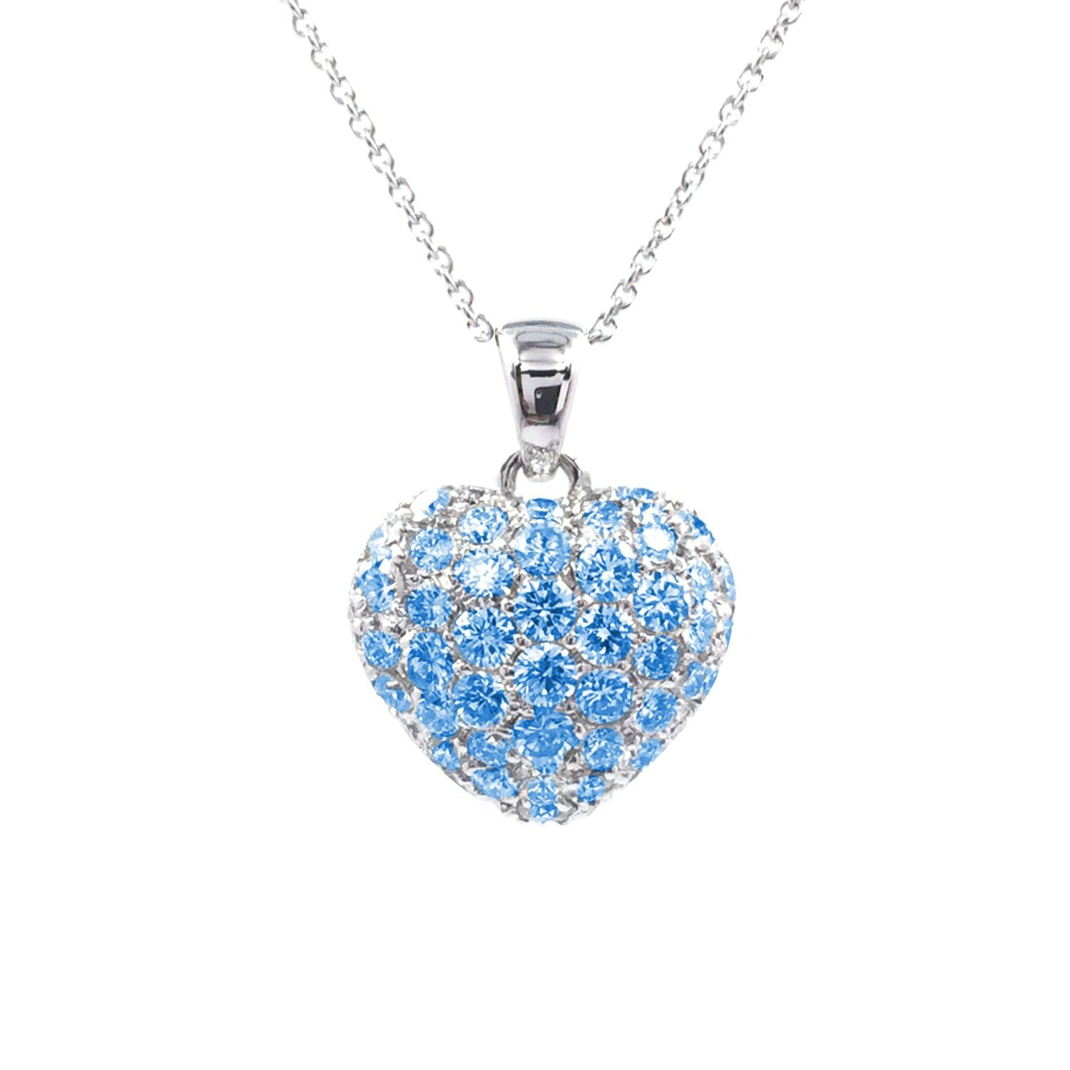 necklace l of et picture topaz bijouterie d or en anneau blue