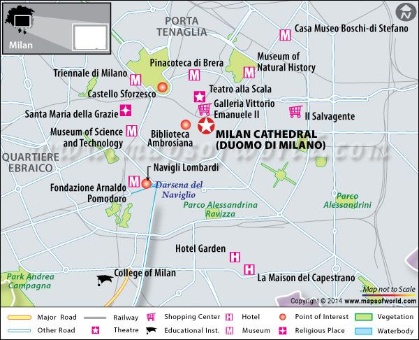 Milan Cathedral (Duomo di Milano) - Map, Facts, History, Location ...
