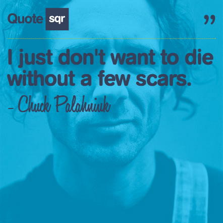 And you earn those scars too . . . @sharonohreally