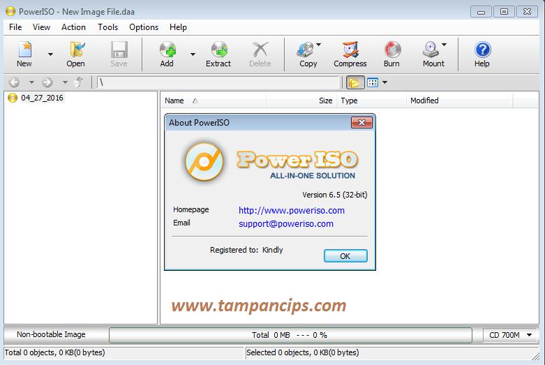Tampan Community™: Cara Menginstal Software PowerISO dan Mount ...