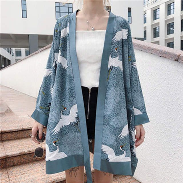Online Shop Japanese Traditional Cardigan Kimonos Women
