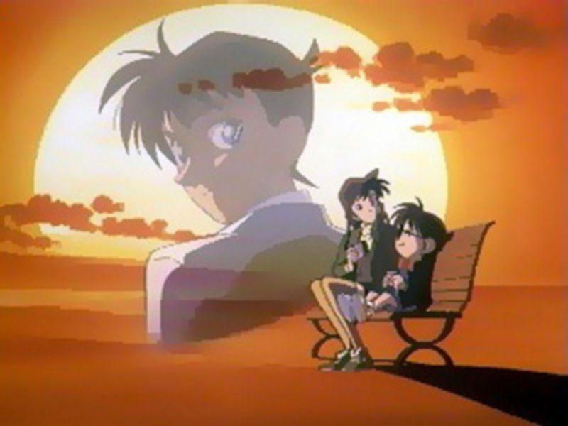 مشاهدة و تحميل المحقق كونان الحلقه 875 مباشر أون لاين قصة الأنمي أنا المتحري طالب الثانوية سينشي كودو بينما كنت مع صديقة طفولتي ر Anime Art Detective Conan