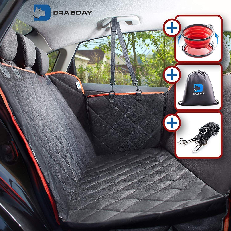 Drabday Dog Car Seat for Backseat UltraDurable Dog Seat