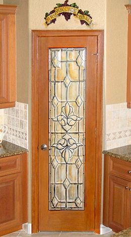 Stained Gl Pantry Door Google Search