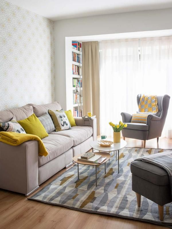 Salones peque os que parecen grandes en 2019 - How can i decorate my small living room ...