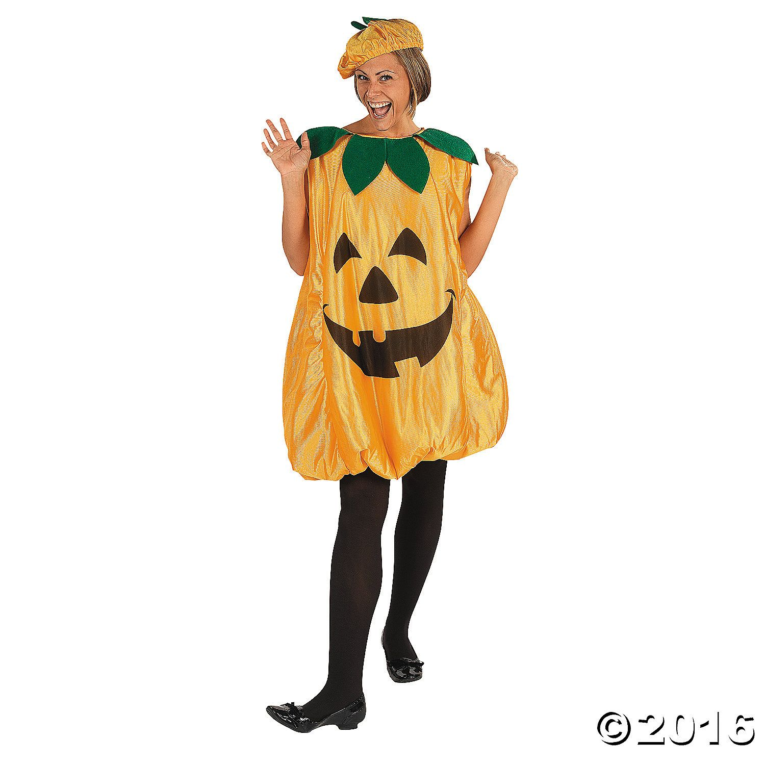 Pumpkin Halloween Costume for Adults