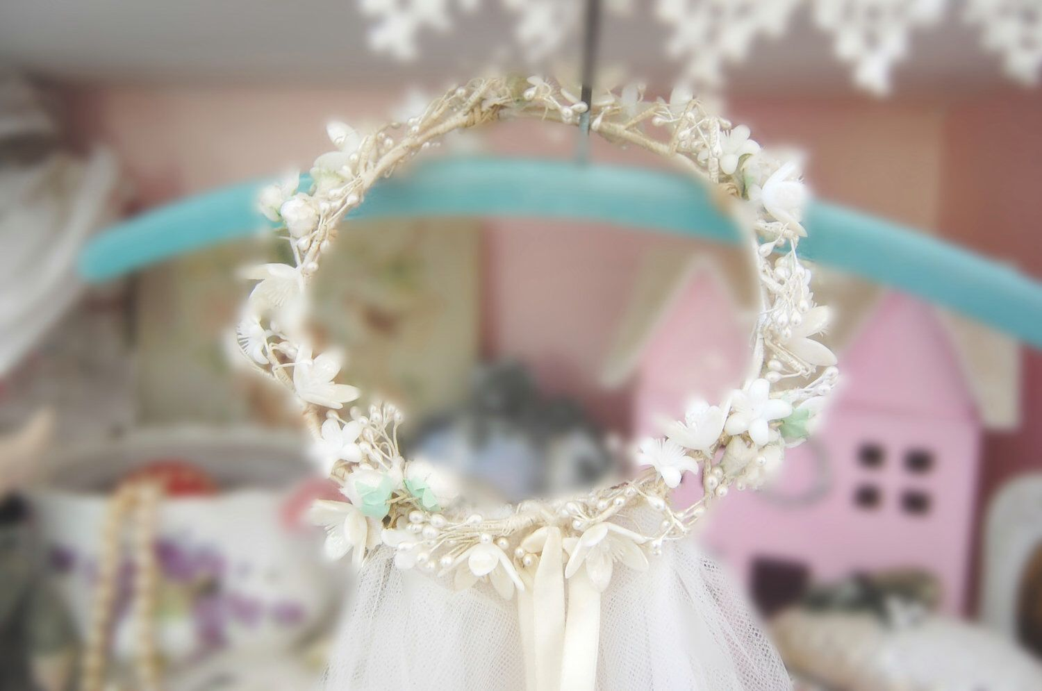 A personal favorite from my Etsy shop https://www.etsy.com/listing/110715069/custom-vintage-style-bridal-veil-flowers