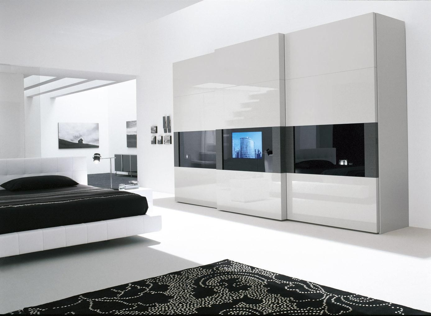 35 modern wardrobe furniture designs wardrobe furniture for Beautiful contemporary bedrooms