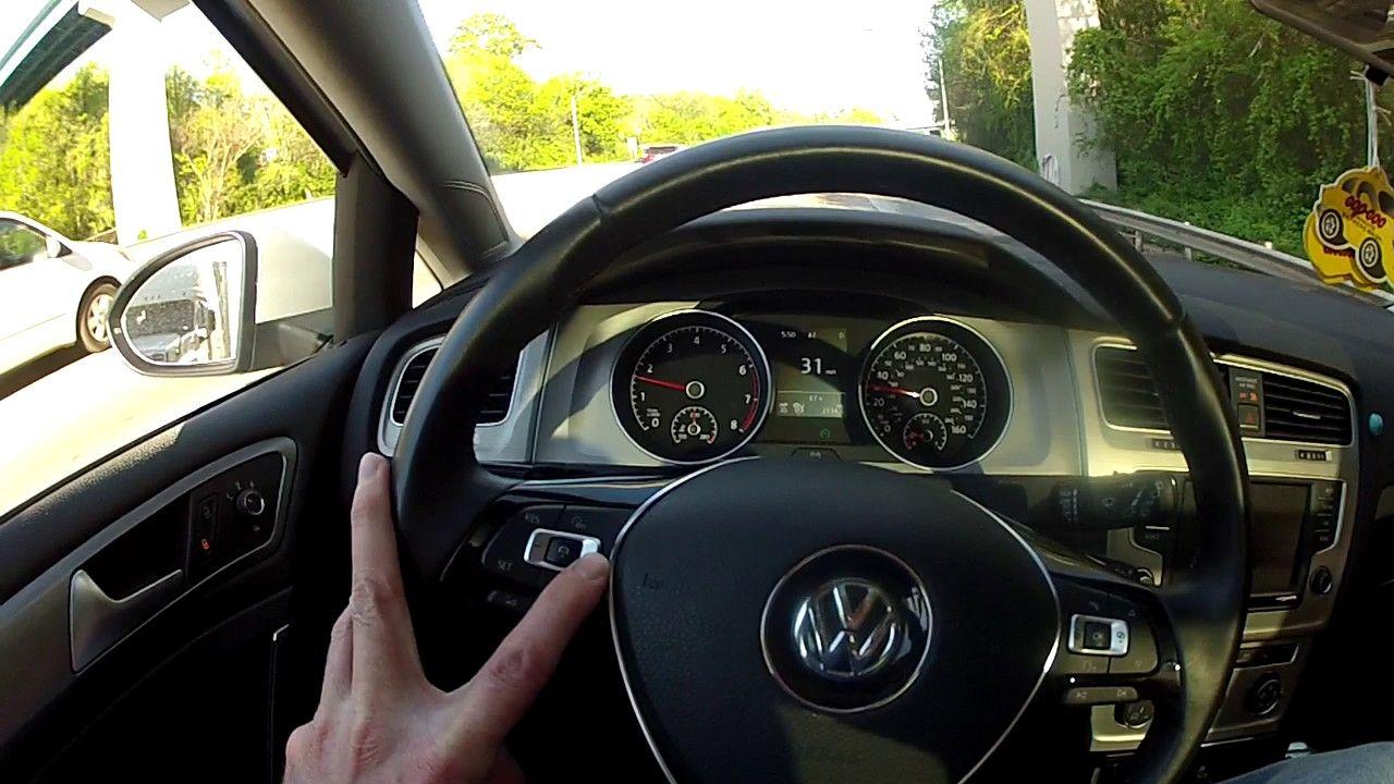 Vw Volkswagen Adaptive Cruise Control Traffic Jam Assist Demo