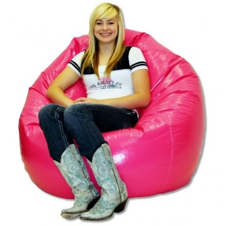 The King Beany Large Vinyl Bean Bag Chair Will Be Your Favorite Place To Chill