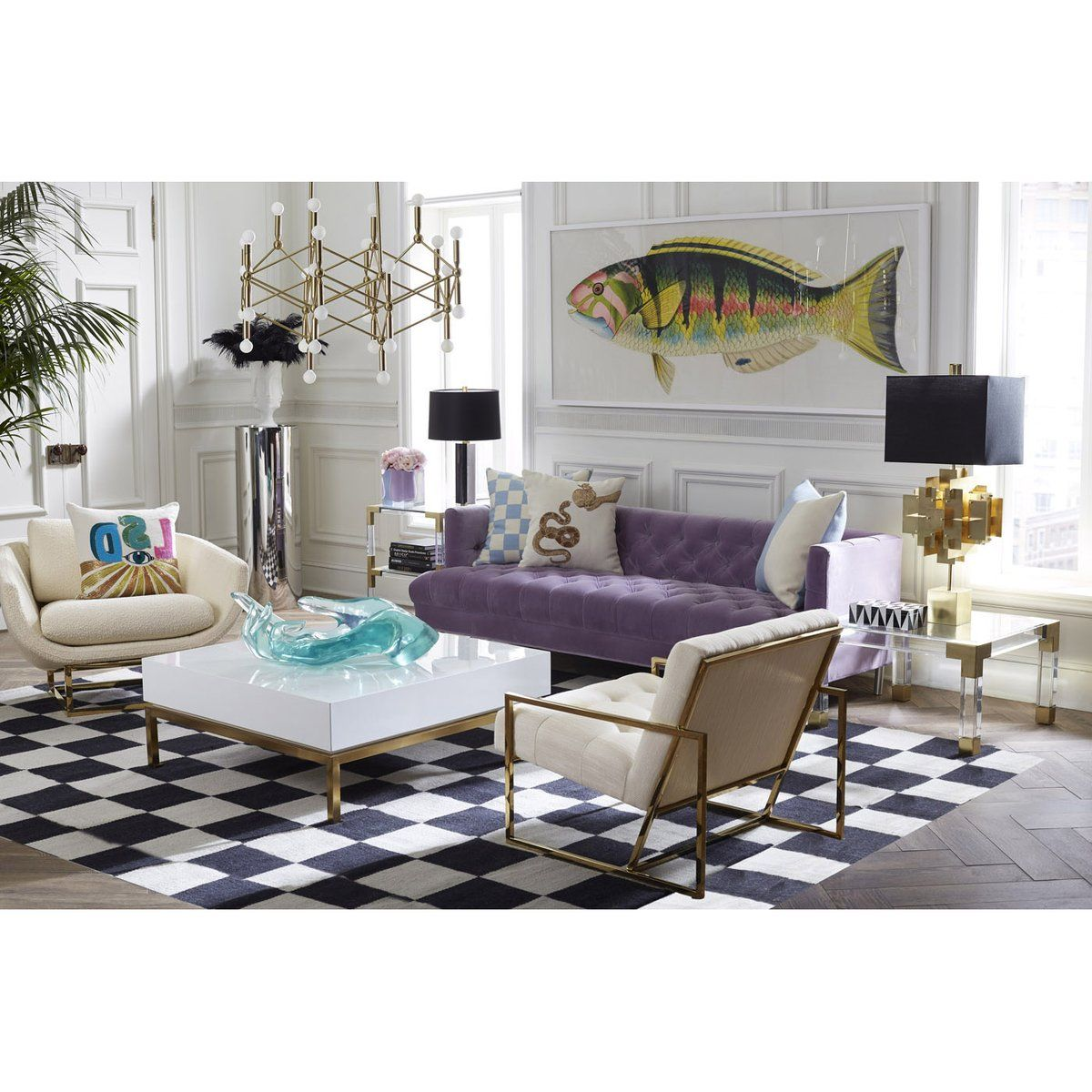 Bennet Fish 3 In 2020 Luxury Chairs Home Decor Furni