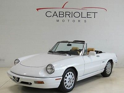 Awesome Alfa Romeo Spider Veloce Convertible For Sale Alfa - 1991 alfa romeo spider veloce for sale