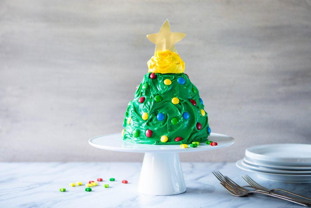 How to Make a Christmas Tree Cake Recipe Christmas