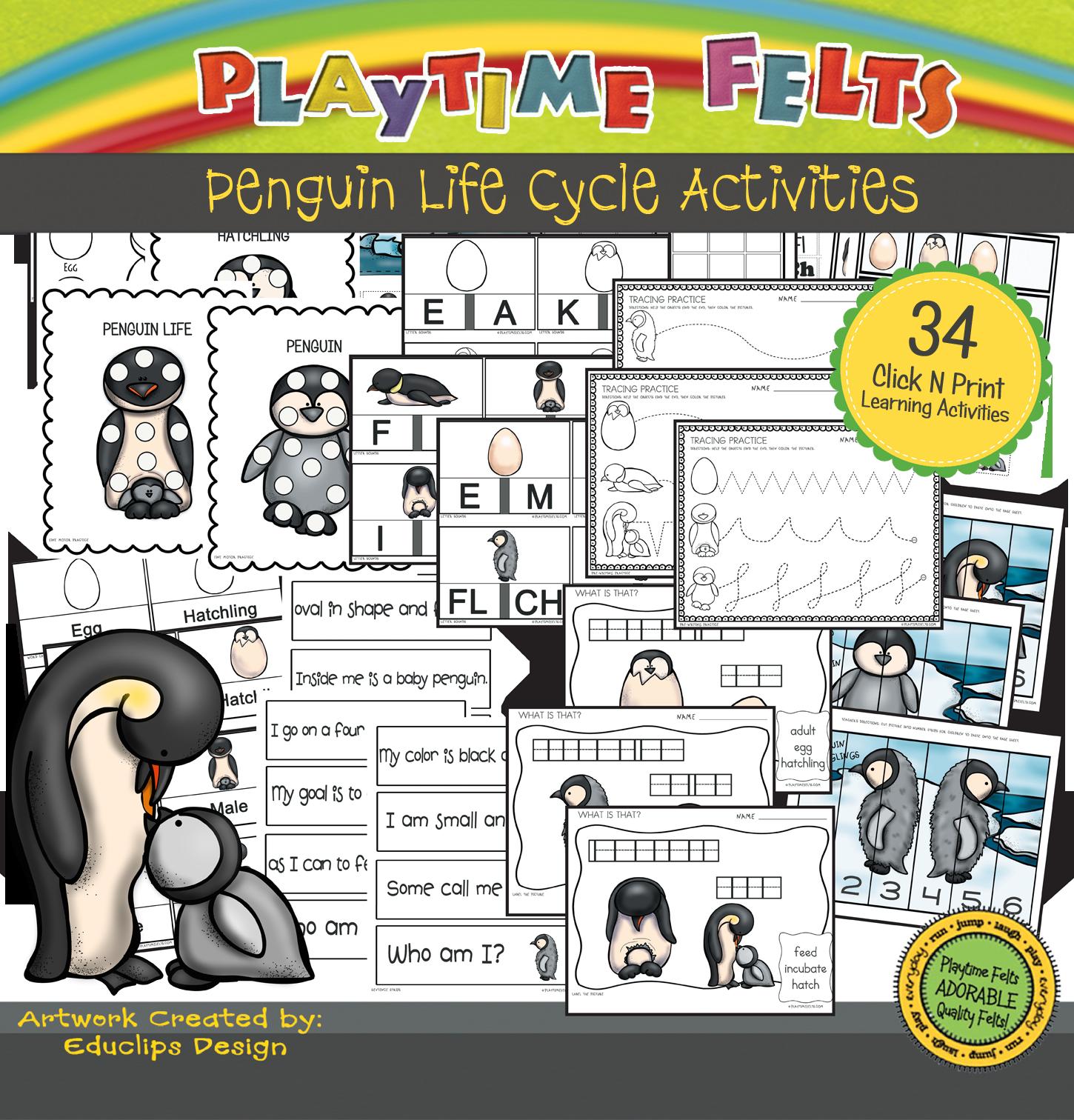 Penguin Life Cycle Digi Download