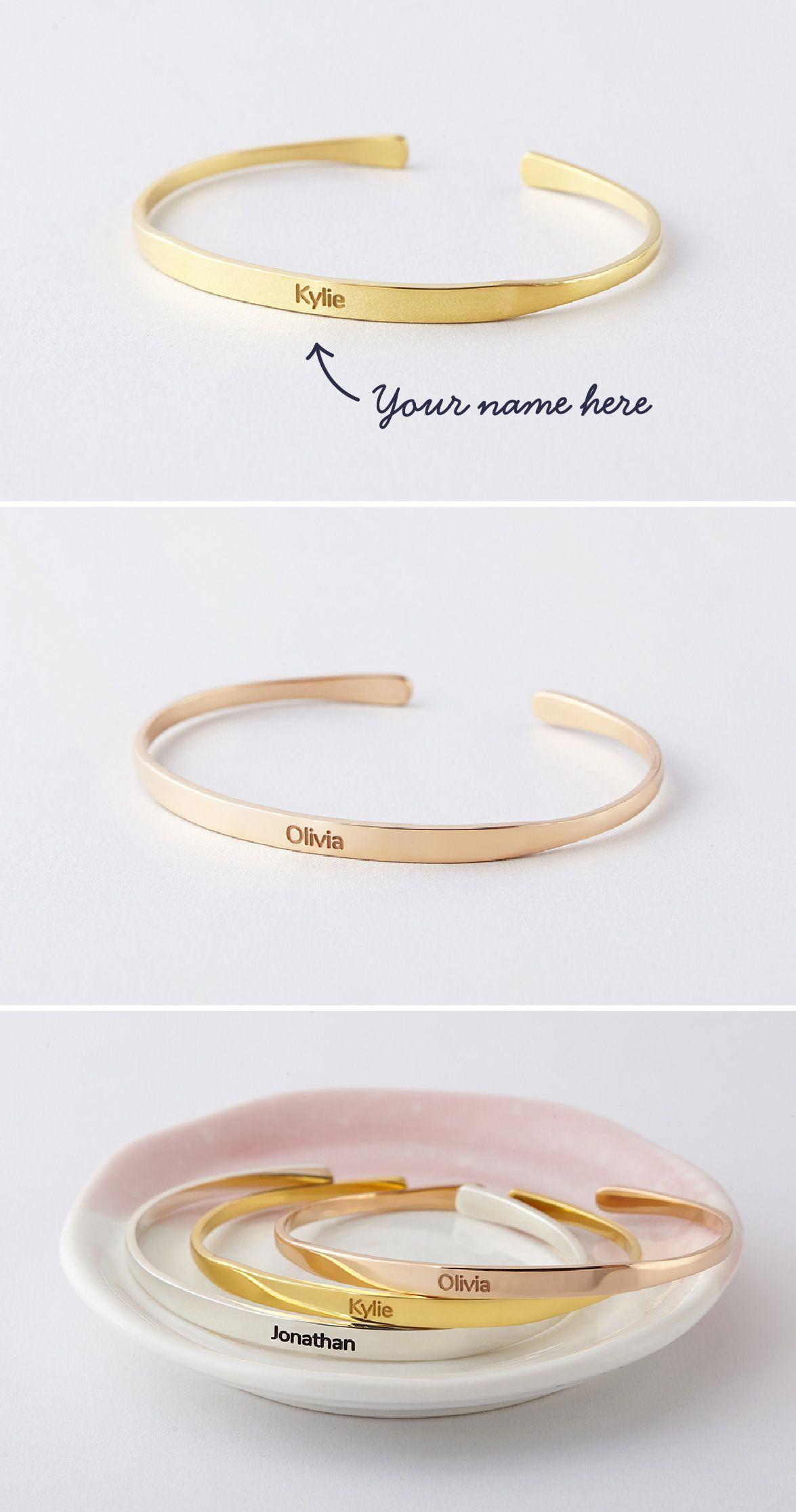 Name bracelet u bracelet with name u custom bracelets u cuff name