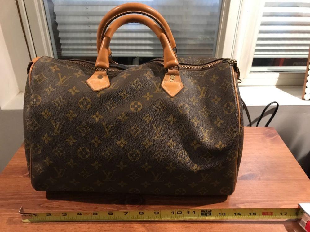Authentic Louis Vuitton Vintage Monogram Sdy Handbag Fashion Clothing Shoes Accessories Womensbagshandbags Ebay Link