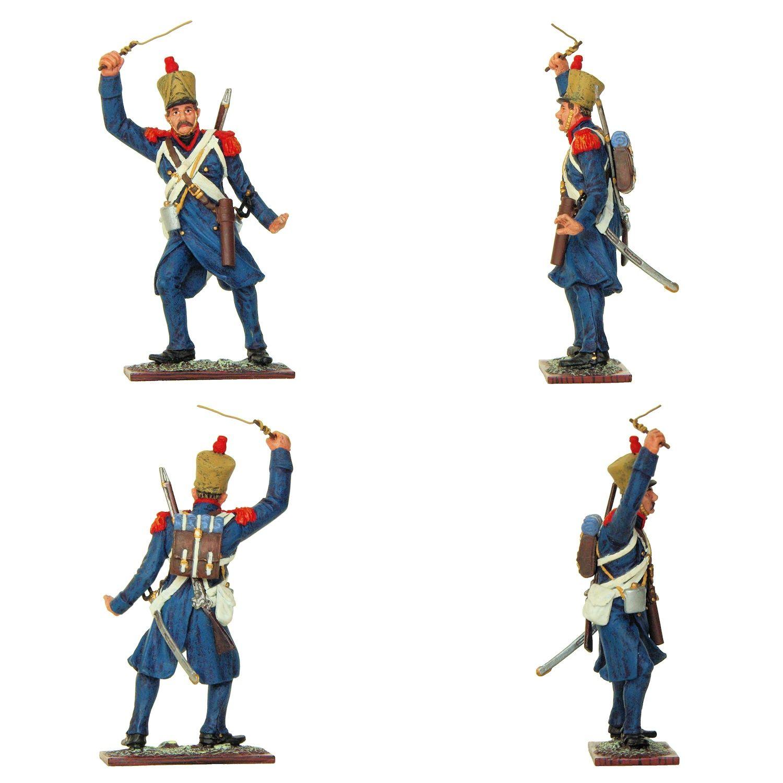 """Artillería a pie - Conductor con látigo (Colección """"Waterloo Serie"""" editada por Distler Figuren - 70 mm)"""