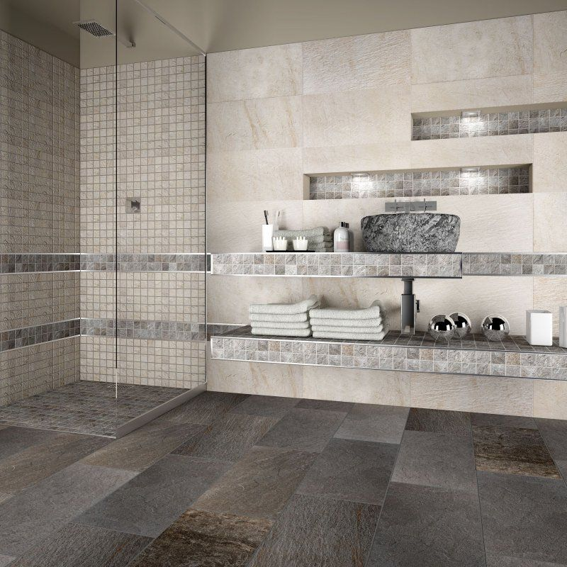 Piastrelle a mosaico il bagno dei sogni ba os for Bricoman piastrelle mosaico