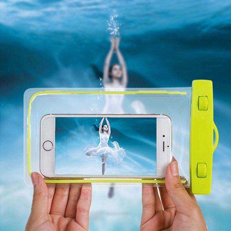 Waterproof Bag Luminous Mobile Phone Case For HTC M9 Samsung