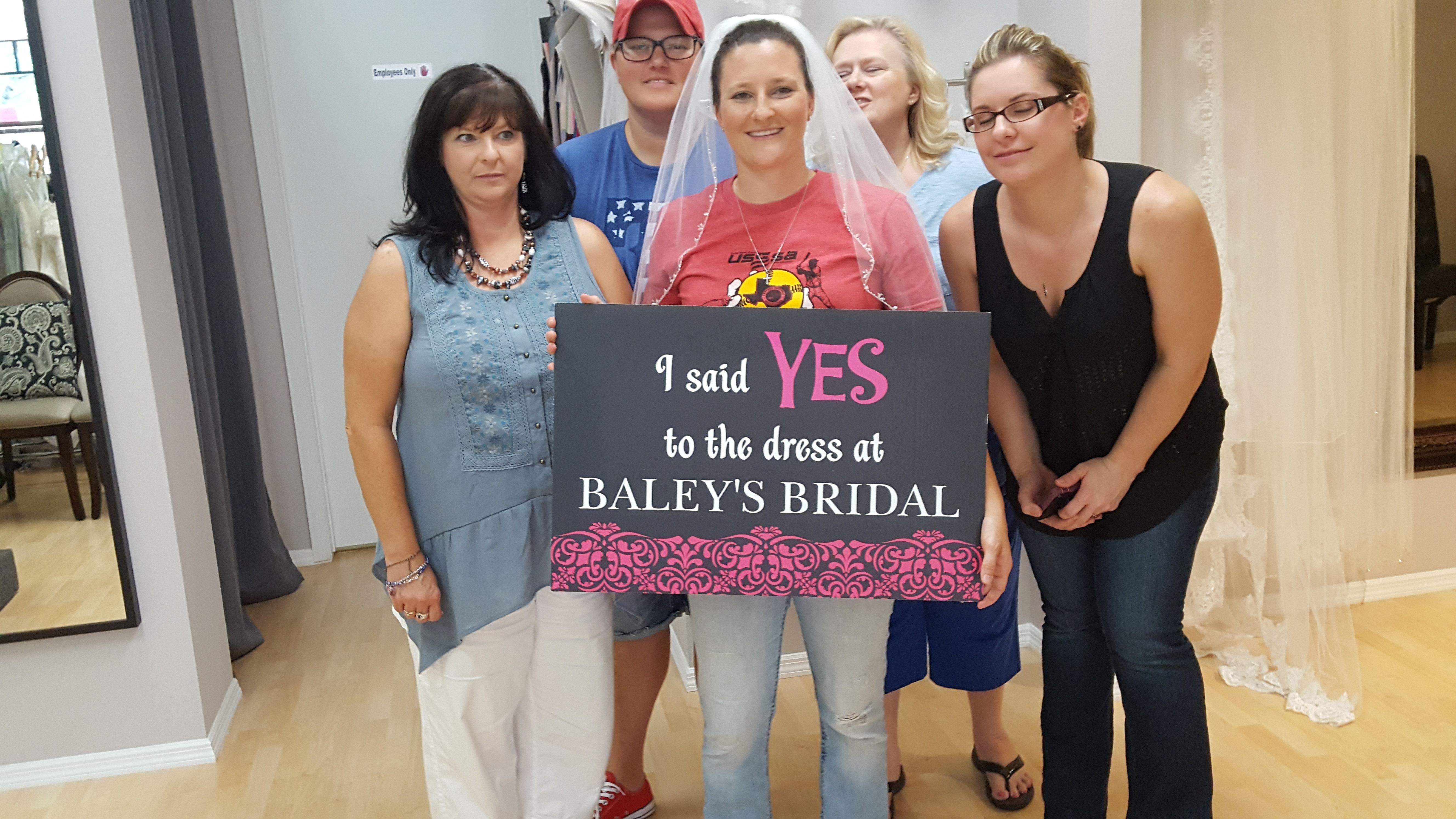 A Very Big Congratulations To Our Bride Ashley Bailey For Finding