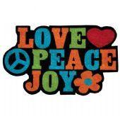 Capacho Peace'n Love :: Decorando Com Classe Shop || Parcele suas compras em até 3x sem juros