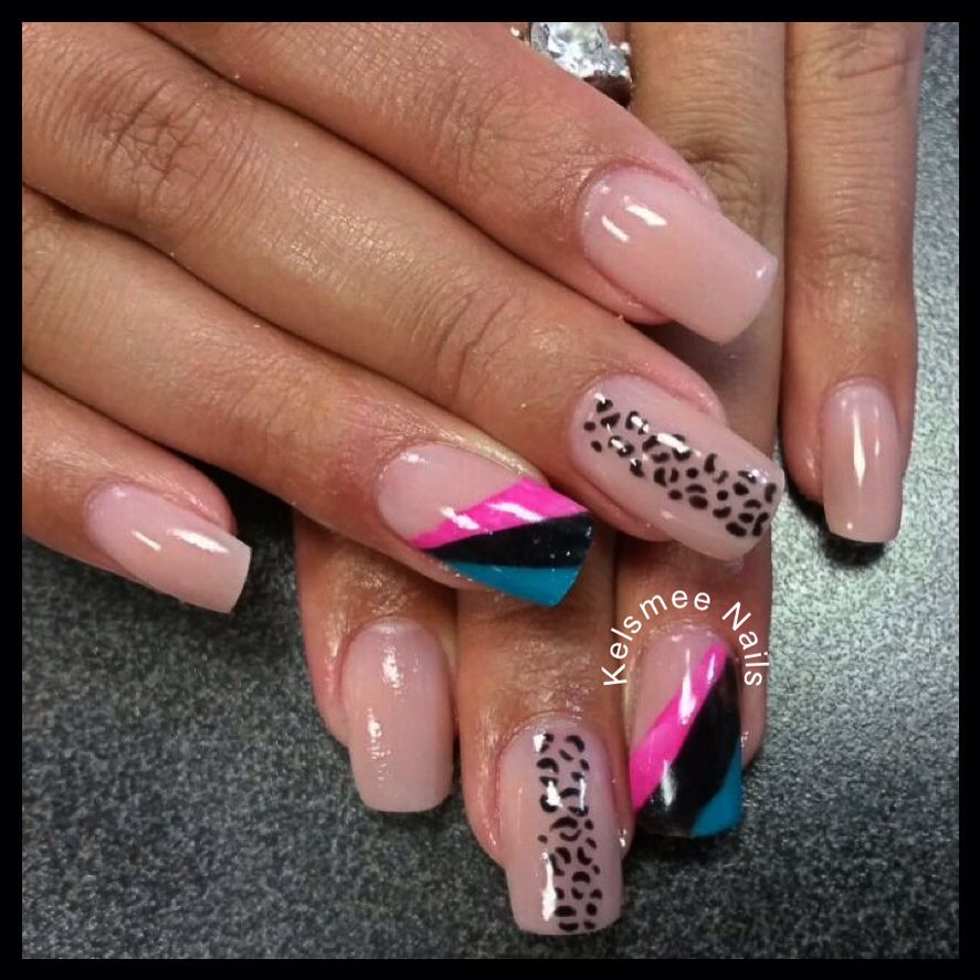 Young Nails Acrylic Design Notpolish Nail Art Pinterest