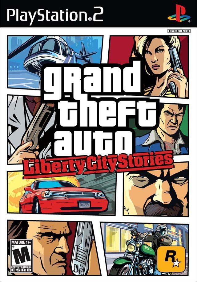 Grand Theft Auto Liberty City Stories Sony Playstation 2 2006 Grand Theft Auto Grand Theft Auto Series Ps2 Games