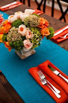 Bold Wedding Ideas - Vibrant Colors on Pinterest | Wedding ...