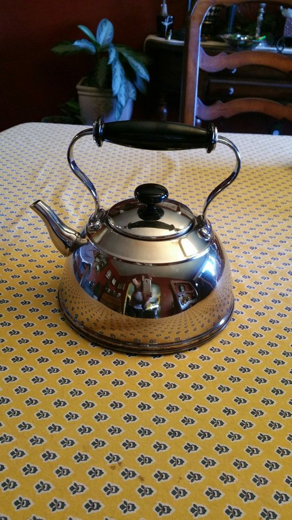 Vintage English Style Tea Kettle