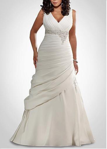 Vestidos de novia tipo sirena para gorditas