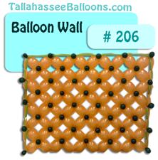 gold green balloon wall quicklinks