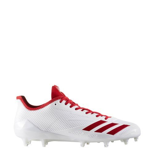 free shipping e9c3a 2eddb Adidas Men s Adizero 5-Star 6.0 Football Cleats (Footwear White Power  Red Power Red, Size 10.5) - Football Shoes at Academy Sports