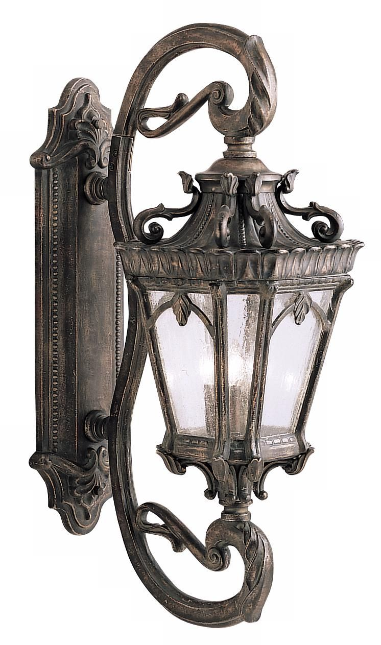 Kichler Tournai Collection 38 High Large Outdoor Wall Light Wall Lantern Outdoor Wall Lantern Wall Lights