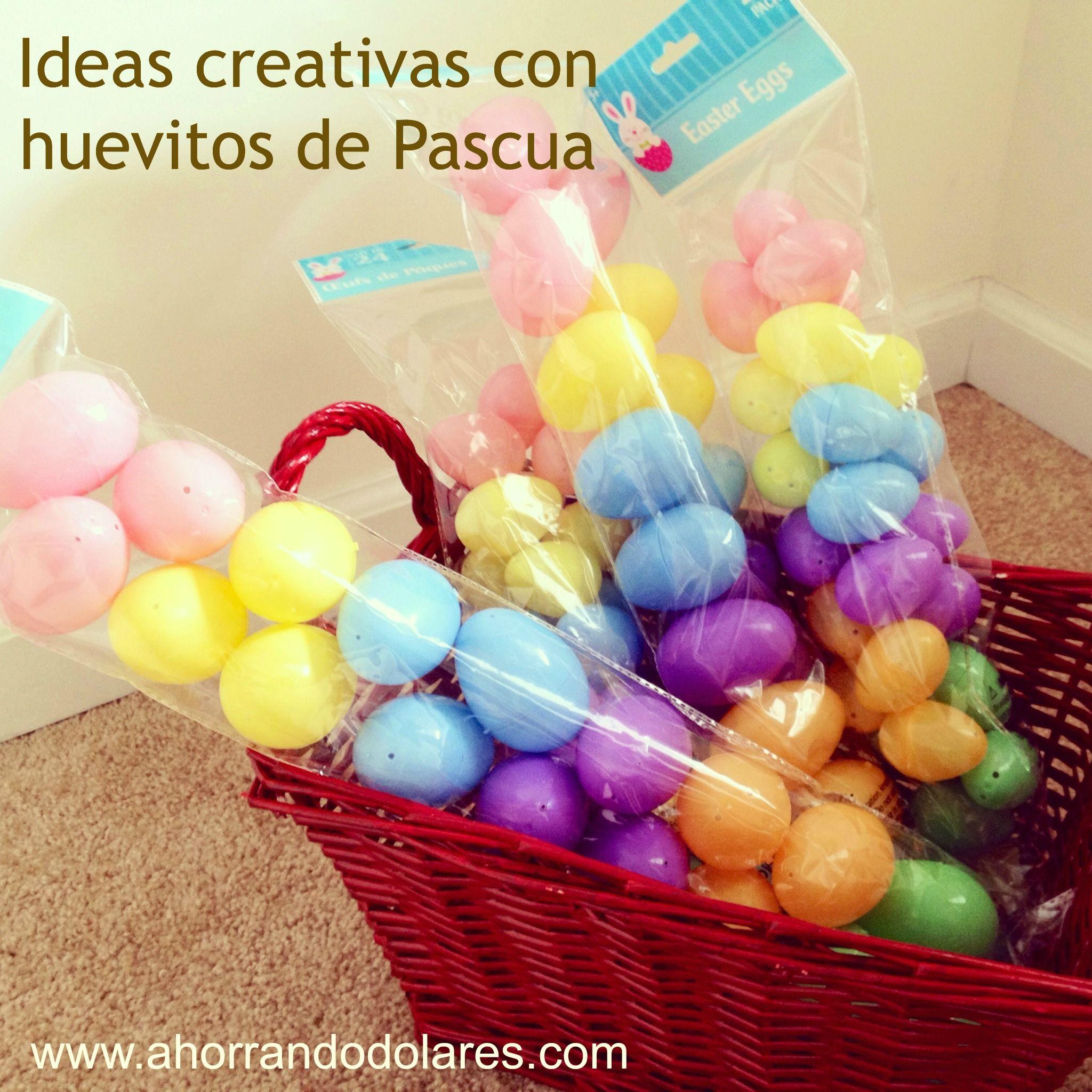 Ideas creativas para decorar con huevitos de pascua sin - Decorar sin dinero ...