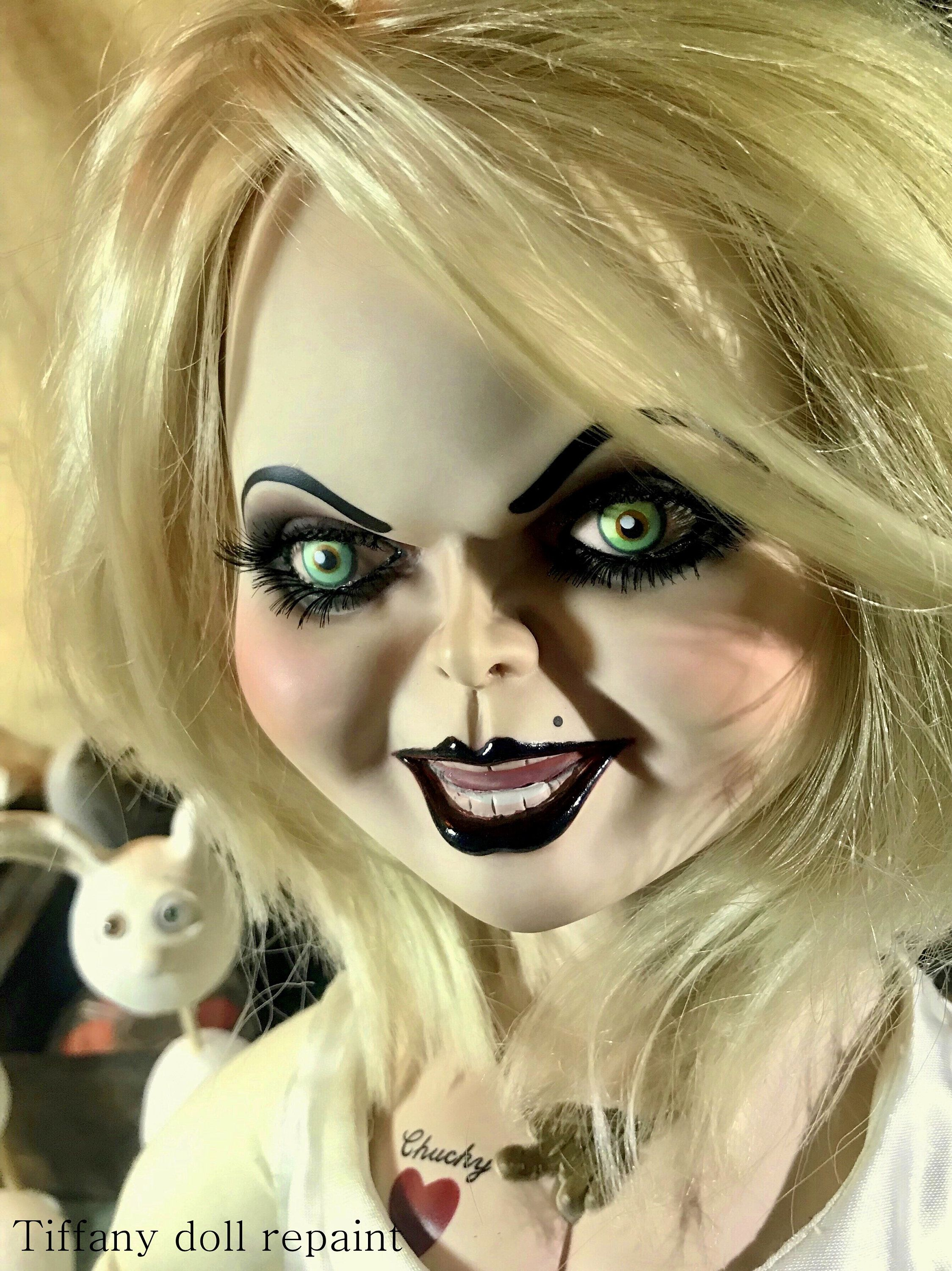 Custom Made To Order Tiffany Bride Of Chucky Doll Repaint Service For Don Bride Of Chucky Tiffany Bride Tiffany Bride Of Chucky