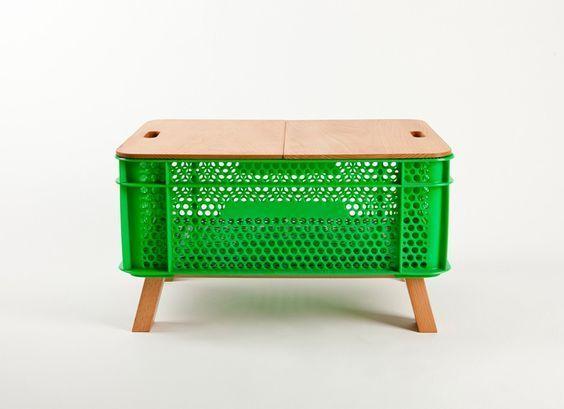Blog Decoration Architrecos Architrecos Decoration En 2020 Mobilier De Salon Cagette Plastique Caisses De Fruits