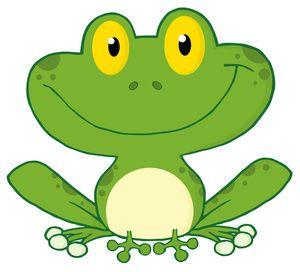 free frog clip art image cute green cartoon frog with big smile rh pinterest co uk Cute Frog Clip Art Owl Clip Art