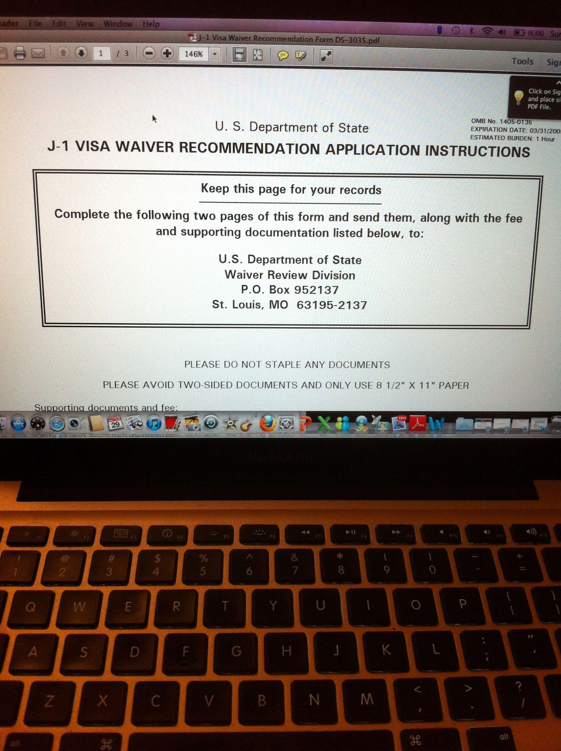 U Visa Personal Statement Sample Beautiful For J1 Waiver Application Mission