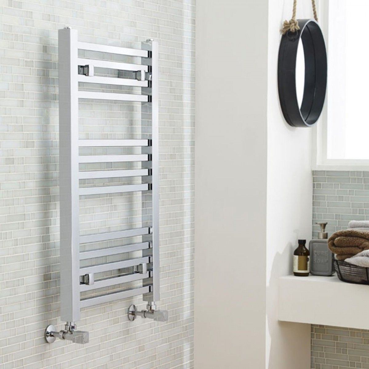 This luxury designer towel rail from Premier
